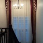 ผลงานติดตั้งผ่านม่าน ม่านหลุยส์สีน้ำตาลทอง โดยจิราภาผ้าม่าน จำหน่ายและติดตั้งผ้าม่านราคาถูกจ้าาา