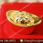 ทองคำแท่ง เคลือบทองแท้ 99.99%