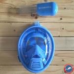 Freewell Easy Snorkel Full Face Mask สำหรับเด็ก พร้อม Mount สำหรับใส่กล้อง GoPro มีให้เลือก 2 สี ฟ้ากับชมพู