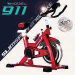 จักรยานออกกำลังกาย SPINBIKE รุ่น 911 สีแดง