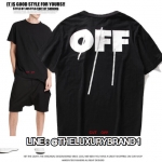 OFF-WHITE CUT OFF T-SHIRT