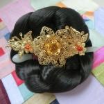 Hanbok hair pin ที่ปักผมฮันบก รุ่นผีเสื้อและดอกไม้ #2