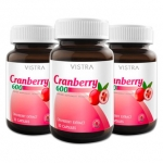 Vistra Cranberry 600 mg.