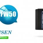 แบตเตอรี่ PISEN ใช้ทดแทน SONY รุ่น NP-FW50 ใช้กับกล้อง SONY หลายรุ่น