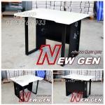 โต๊ะคอมพิวเตอร์ขาเหล็ก New Gen แถมไฟ LED