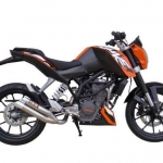 ท่อ ixil L3X Slip On For KTM Duke 200