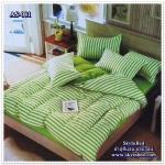 ผ้าปูที่นอนสไตล์โมเดิร์น เกรด A ขนาด 6 ฟุต(5 ชิ้น)[AS-081]
