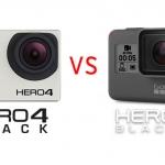 เปรียบเทียบข้อมูล GoPro Hero 4 กับ GoPro Hero 5