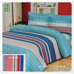 ผ้าปูที่นอนสไตล์โมเดิร์น เกรด A ขนาด 5 ฟุต(5ชิ้น)[AS-159]