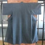 Kimono man กิโมโนชาย สีดำกรมท่า + โอบิ