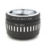 อแดปเตอร์แปลงท้ายเลนส์ DKL ใช้กับกล้อง SONY NEX
