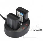 แท่นชาร์จแบตเตอรี่ USB แบบคู่ KINGMA สำหรับ OLYMPUS BLN-1