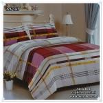 ผ้าปูที่นอนสไตล์โมเดิร์น เกรด A ขนาด 6 ฟุต(5 ชิ้น)[AS-143]