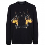 Givenchy Doberman Print Black Sweatshirt