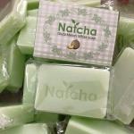 สบู่นัดชากลูต้าเมล่อน สีเขียว (Natcha Gluta Melon White Soap)