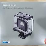 แกะกล่อง Housing ใหม่ Super Suit สำหรับ GoPro Hero5 Black กันน้ำลึก 60เมตร