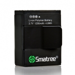 AHDBT-302 Smatree High Capacity Li-Polymer Battery สำรอง (1290mAh) สำหรับกล้อง GoPro Hero3,3+
