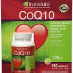 TruNature Coenzyme CoQ10 100 mg – 150 Softgels
