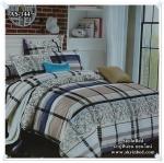 ผ้าปูที่นอนสไตล์โมเดิร์น เกรด A ขนาด 6 ฟุต(5 ชิ้น)[AS-144]
