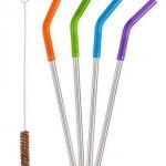 5 Piece Straw Set - Multi Color