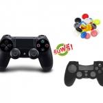 จอย PS4 Dual Shock 4 Black (ซิลิโคนอนาล็อก + ซิลิโคนจอย) [PS4/PC]