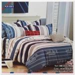 ผ้าปูที่นอนสไตล์โมเดิร์น เกรด A ขนาด 5 ฟุต(5ชิ้น)[AS-041]