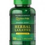 Puritan's Pride Herbal Laxative / 250 Tablets