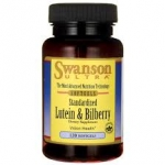 Swanson Ultra Standardized Lutein & Bilberry / 120 Sgels