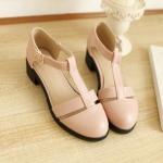 พรีออเดอร์ รองเท้าส้นสูง (ฟ้า,ขาว,ชมพู) ไซส์33-43