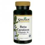 Swanson Premium Beta-Carotene (Vitamin A) 25,000 IU / 300 Sgels