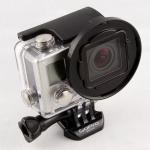 SRP Blurfix3+ เป็น Adapter สำหรับใส่ Filter หน้า 55mm สำหรับ GoPro Hero4, Hero3+