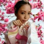 """Hanbok เกรด A+++ ผ้าไหมเกาหลี่ รุ่น Sweet Candy สีหวานสดใส อก 40"""""""