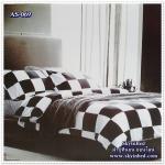 ผ้าปูที่นอนสไตล์โมเดิร์น เกรด A ขนาด 3.5 ฟุต(3 ชิ้น)[AS-069]