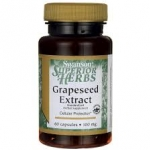 Swanson Superior Herbs Grapeseed Extract (Standardized) 100 mg / 60 Caps