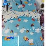 ผ้าปูที่นอนเกรด A ขนาด 5 ฟุต(5ชิ้น)[AS-210]