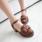 พรีออเดอร์ รองเท้าส้นสูง (เบจ,ดำ,น้ำตาล,เทา) ไซส์33-43