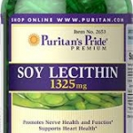 Puritan's Pride Soy Lecithin 1200 mg / 250 Softgels