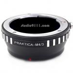 อแดปเตอร์แปลงท้ายเลนส์ PRAKTICA (PB) ใช้กับกล้อง M4/3