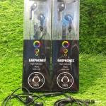 หูฟัง EARPHONE BLL MODEL6028 สีดำใช้ได้ทุกรุ่นรวมทั้งโนเกียด้วย
