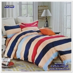 ผ้าปูที่นอนสไตล์โมเดิร์น เกรด A ขนาด 6 ฟุต(5 ชิ้น)[AS-080]