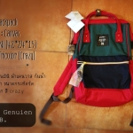 Anello Backpack Canvas Mini Tricolor (Crazy)