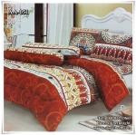 ผ้าปูที่นอนเกรด A ขนาด 6 ฟุต(5 ชิ้น)[AA-051]