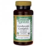 Swanson Superior Herbs Cordyceps Complex / 60 Veg Caps