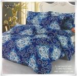 ผ้าปูที่นอน ลายกราฟฟิค เกรด AA ขนาด 6 ฟุต(5 ชิ้น)[AA-140]