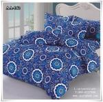 ผ้าปูที่นอน ลายกราฟฟิค เกรด AA ขนาด 6 ฟุต(5 ชิ้น)[AA-142]