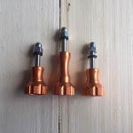 TK-OR Knob aluminum สีส้ม