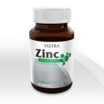 Vistra Zinc Natural Extract 15 mg ขนาด 45 แคปซูล