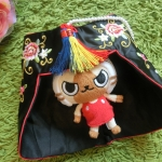 Hanbok hat หมวกฮันบกแบบปิดหูงานปัก สำหรับเด็กเล็ก 1-2 ขวบ