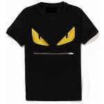 FENDI MONSTER BUG BLACK T-SHIRT