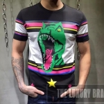 เสื้อยืด SAINT LAURENT PARIS DINOSAUR T-SHIRT